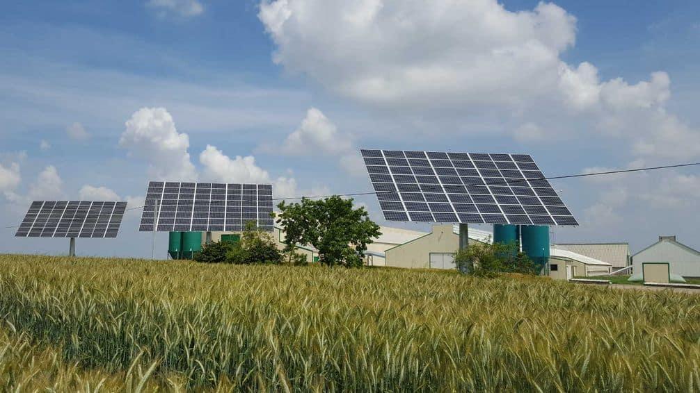 panneaux solaires trackers
