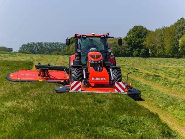 tracteur kubota M7 M7003 agritechnica 2019 agricole