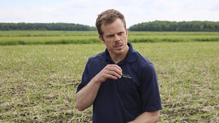 LouisPérusse conseiller agricole luzerne drains couverture sols