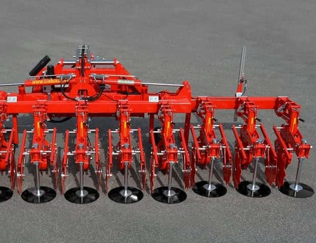désherbage mécanique, bineuse Einböck Chopstar Hybrid