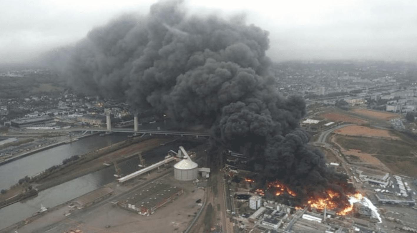 Incendie Rouen Etat Lubrizol accord indemniser agriculteurs