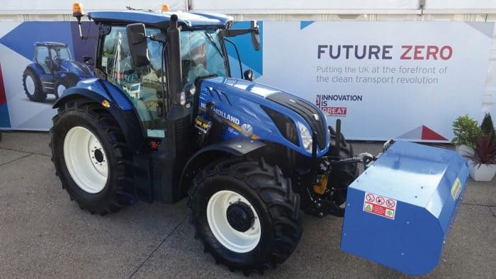 New Holland T6 Méthane Power