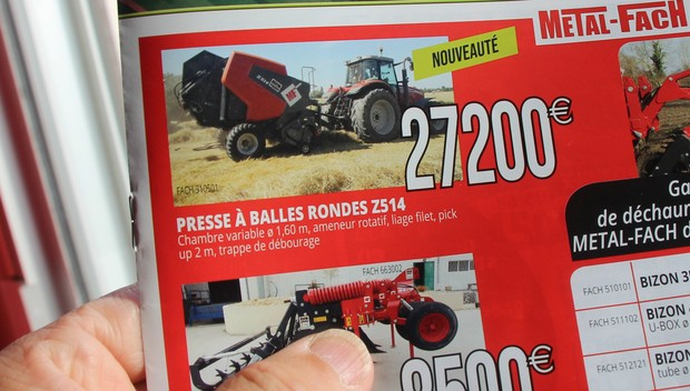 presse Metal-Fach Agripartner au Space