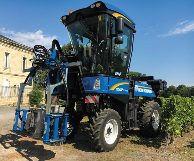 New Holland Braud machine à vendanger en polyvalence