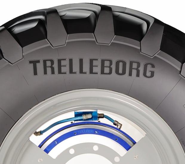 télégonflage Trelleborg Dana CTIS+ Inside
