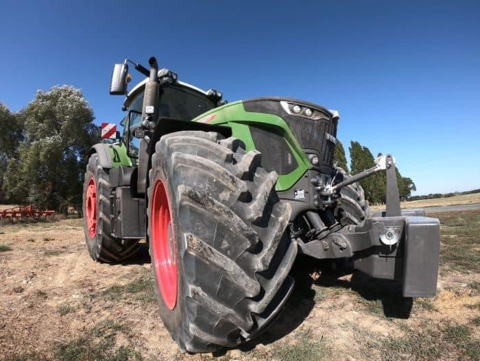 Essait tracteur 642 Vario