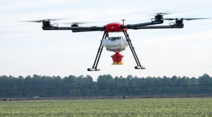 drone autorisation pesticide agriculture bio terrain pentu