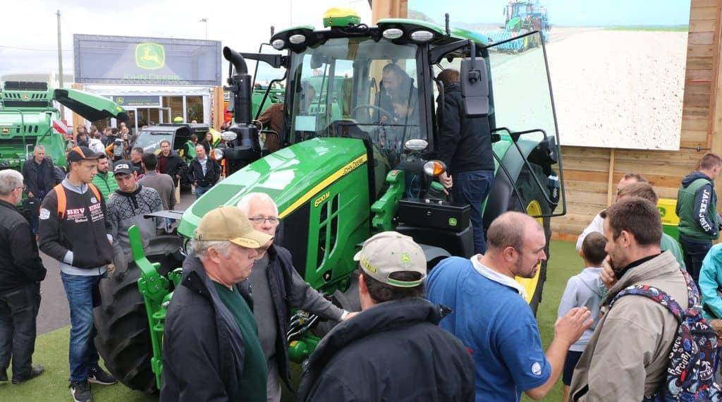 tracteurs 6M de John Deere, Sommet de l'Elevage 2019