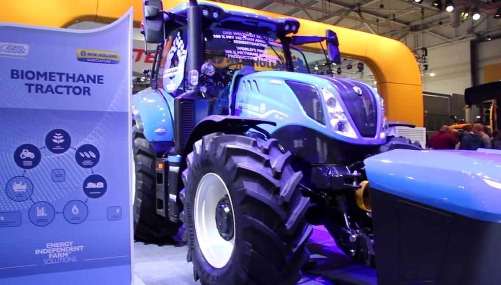 New Holland T6 Méthane Power