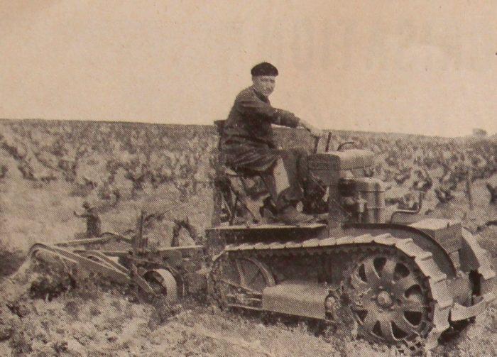 tracteur vigneron bernard