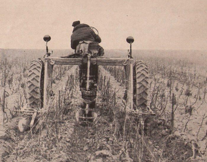 tracteur enjambeur Ballu