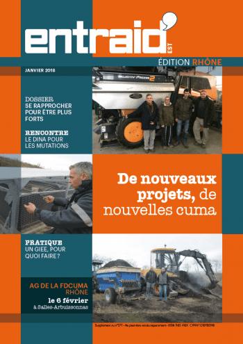 Couverture du numéro Edition Rhône