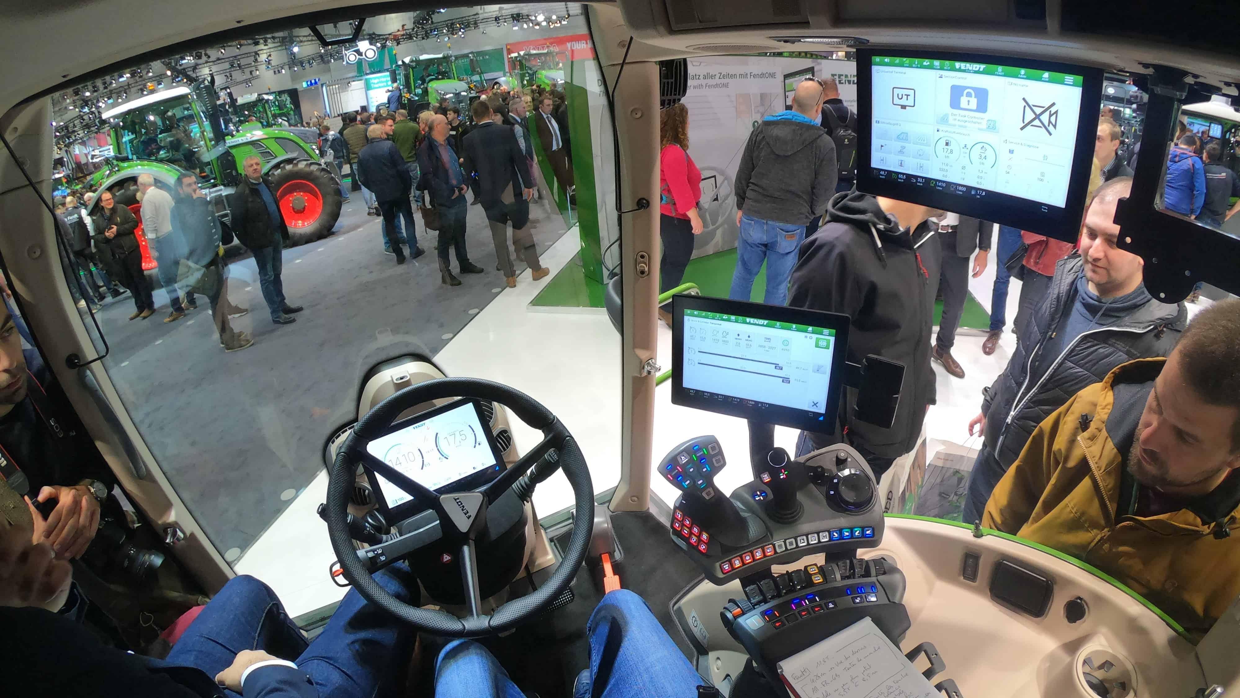 Tracteur Fendt 700 Vario FendtOne Fendt One
