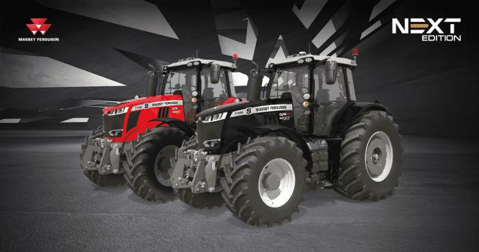 Massey Ferguson tracteur MF 5700 et MF 7700 Next