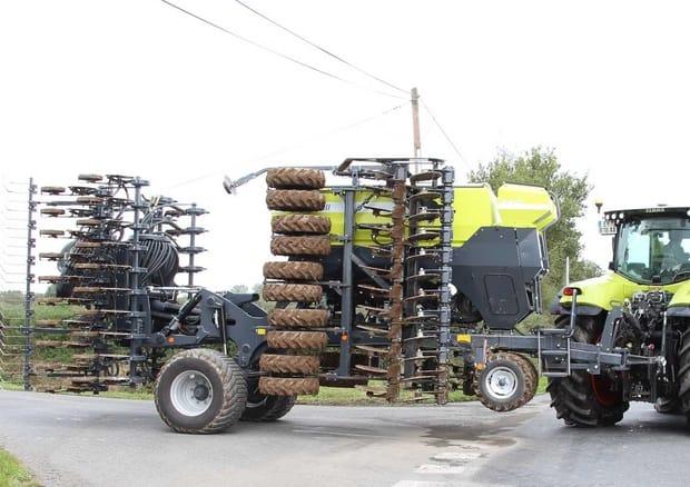 semoirs Sky Agriculture Maxidrill Serie 20 Essieu