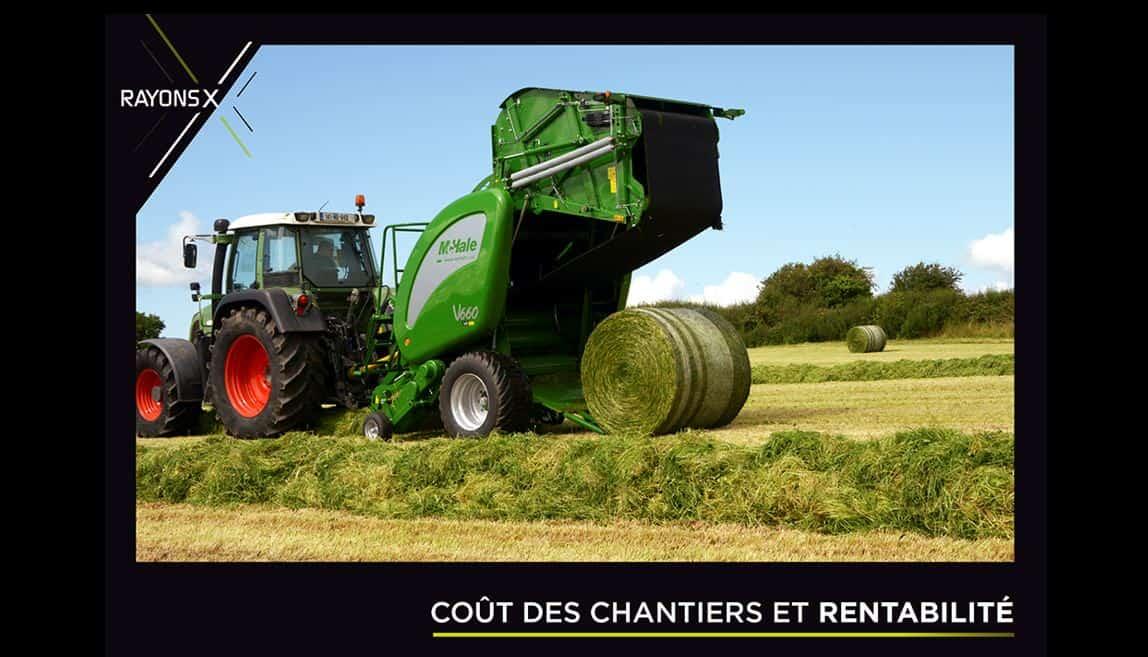 Magazine rayons X machine agricole