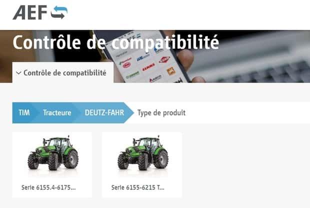 tracteur deutz-fahr TIM isobus
