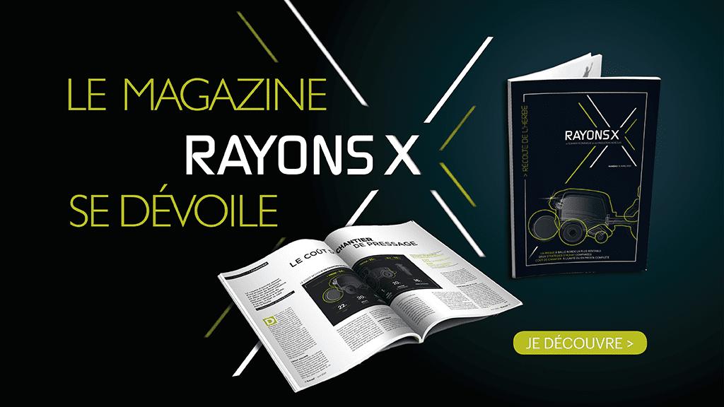 Rayons X entraid couverture magazine et logo