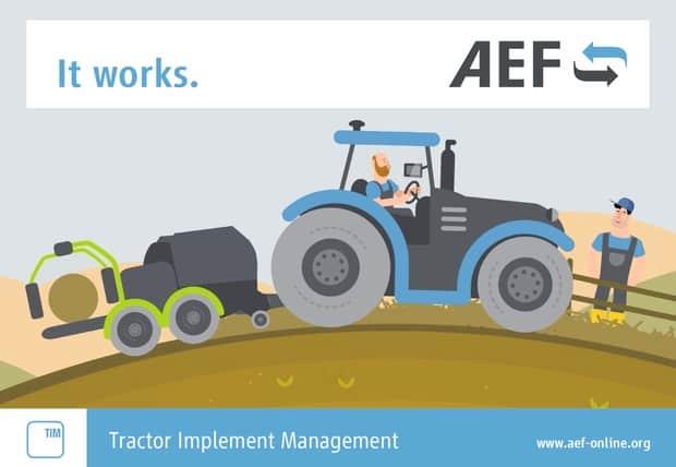isobus TIM tracteur presse de l'AEF