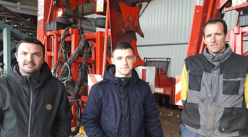 carrière agricole, responsables de la cuma l'inattendue en Vendée avec le nouveau salarié