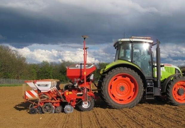 arvalis essai semis maïs kverneland geoseed