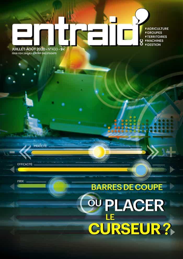 entraid magazine couverture juillet aout 2020