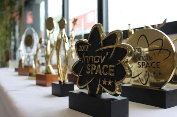 Les trophées d'un quart de siècle d'Innov'space