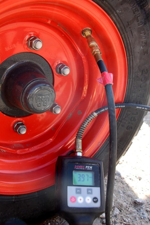 gonfleur automatique de pneus Jamec PEM