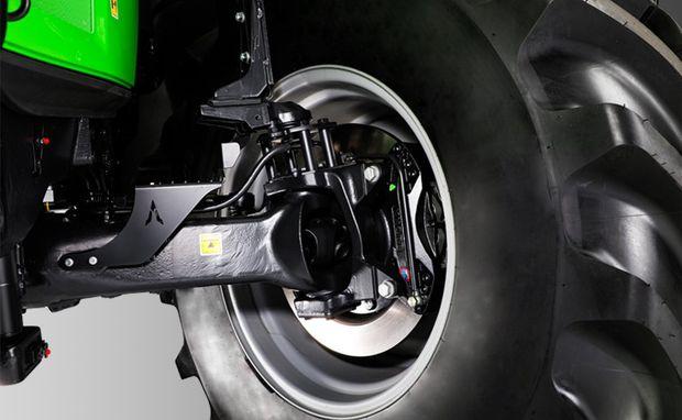 tracteur deutz-fahr série 8 freins à disques