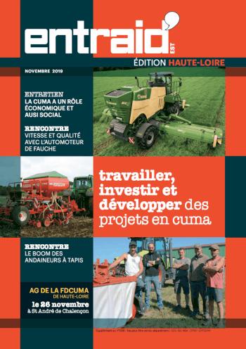 Couverture du numéro Edition Haute-Loire
