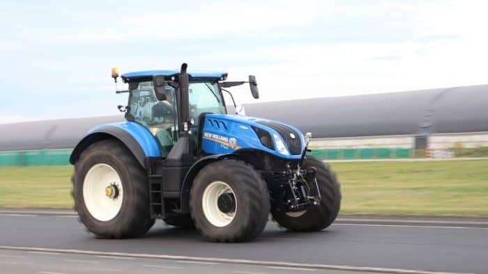 tracteur à 60km/h