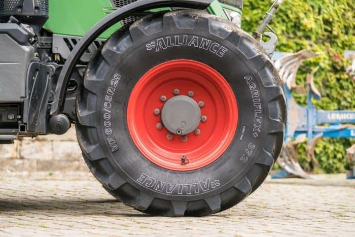 coût d'un pneu VF