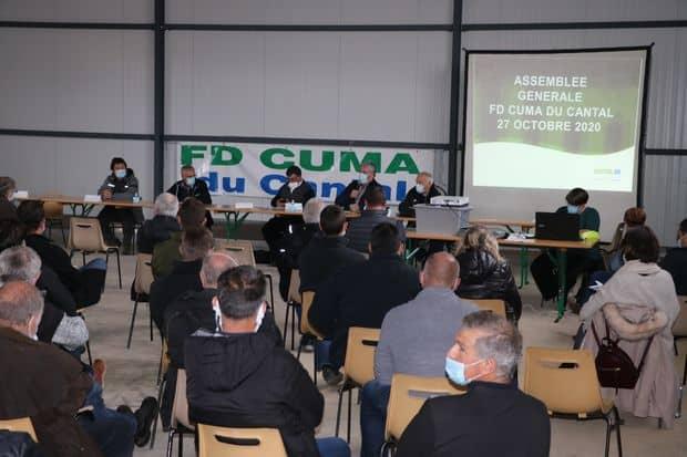 Assemblée générale 2020 de la fdcuma du Cantal