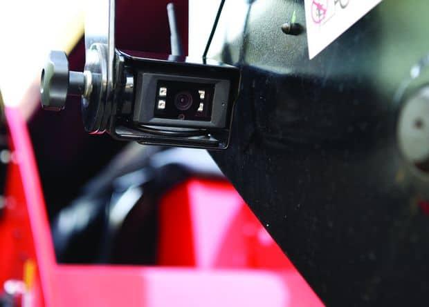 chargeur télescopique Manitou NewAg XL caméra