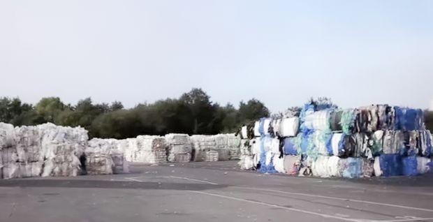 bâche d'ensilage Trioblack de Trioplast, en plastique recyclé