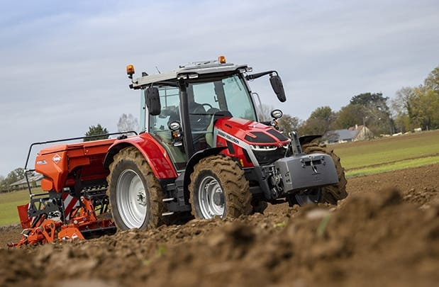tracteur massey Ferguson MF 5S semis