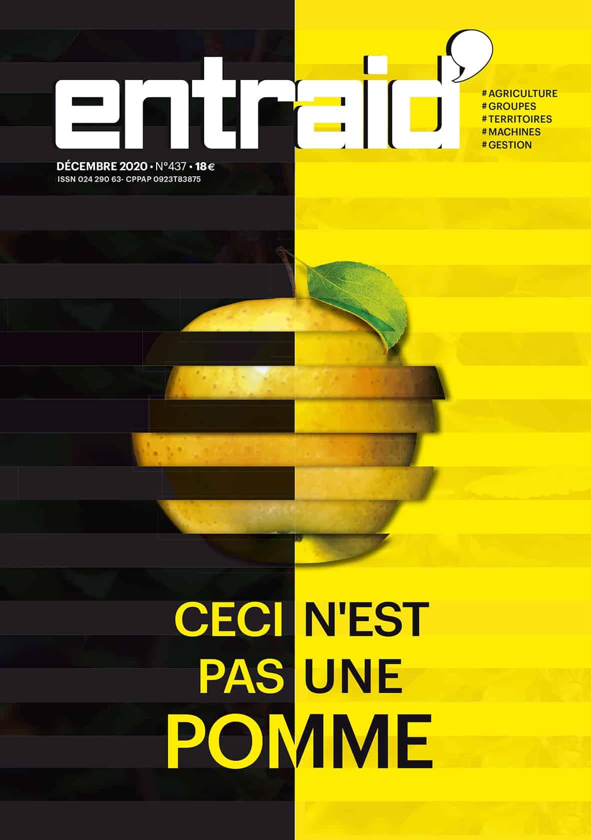 Couverture du magazine Entraid de décembre 2020