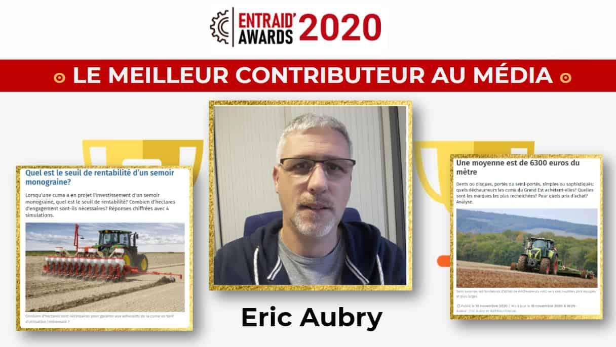 eric aubry Awards Entraid