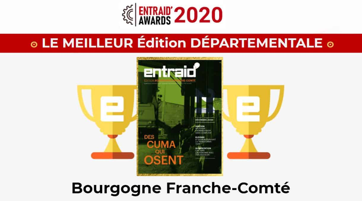 Entaid Bourgogne Franche Comté Entraid Awards