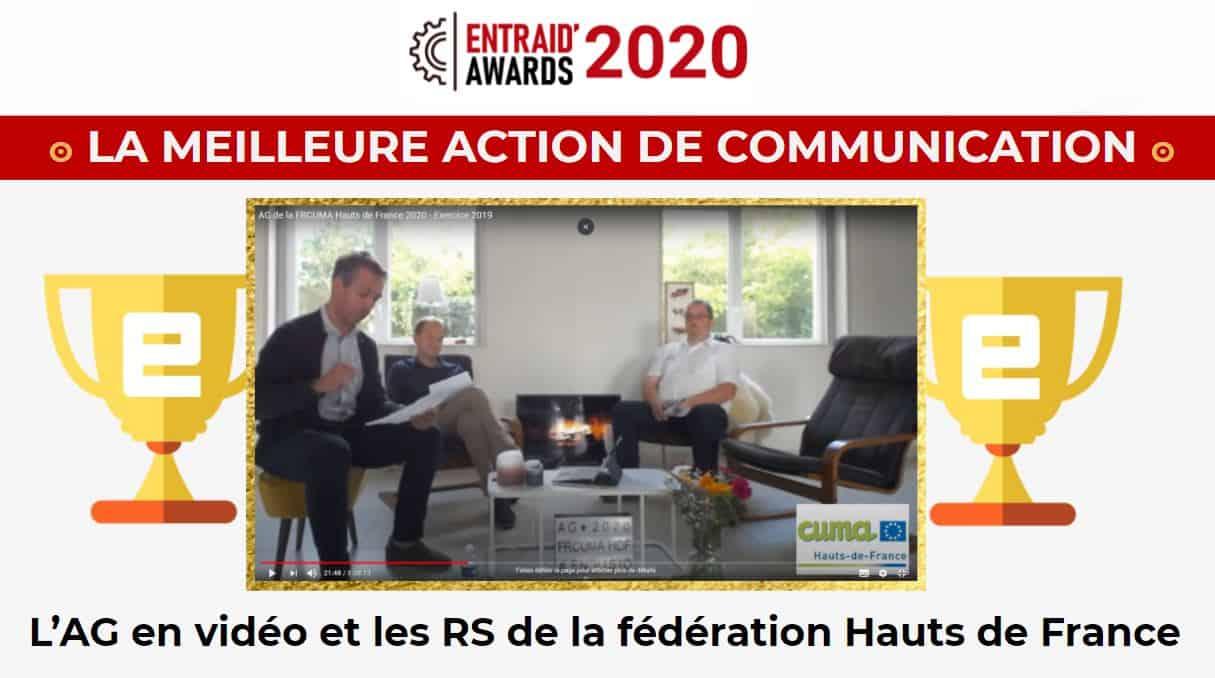 Meilleure initiative communication 2020