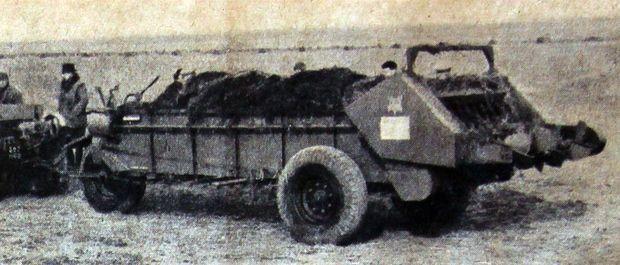 salon machine agricole 1951 epandeur fumier