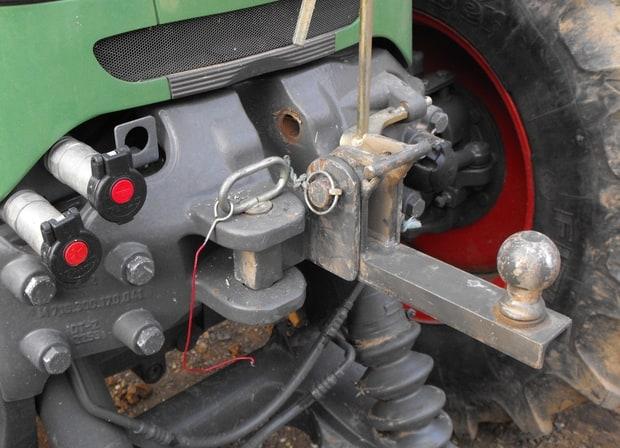 astuce porte-vélo pour tracteur