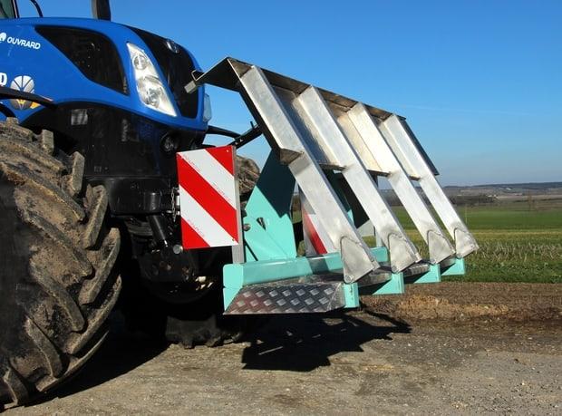porte-quad pour tracteur axe-LS