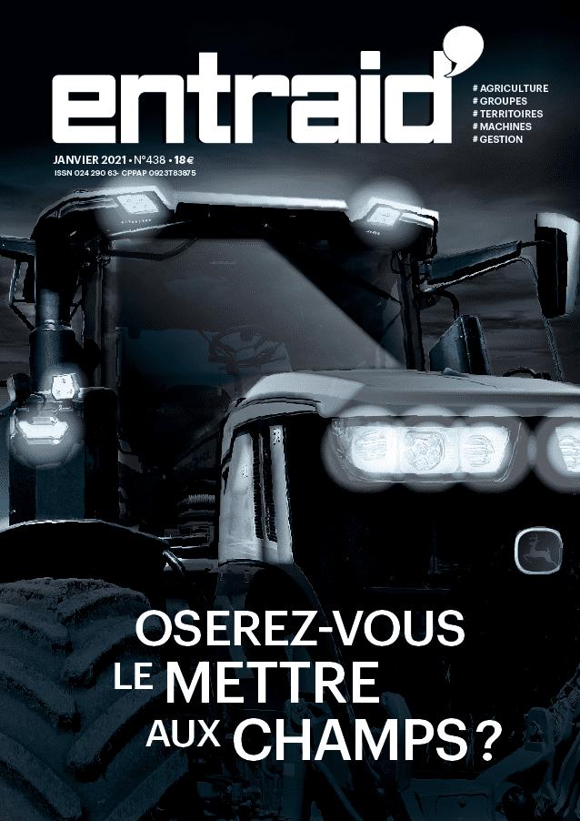 entraid magazine couverture janvier 2021