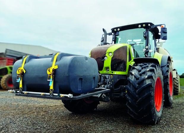 Hydrokit lavage roues tracteur tonne à lisier