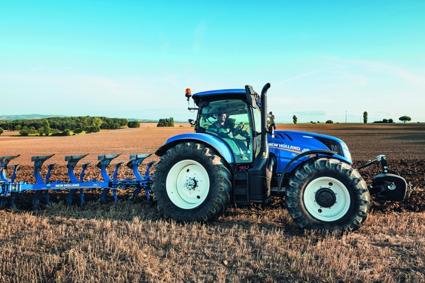 tracteur New Holland T6.160 Dynamic Command