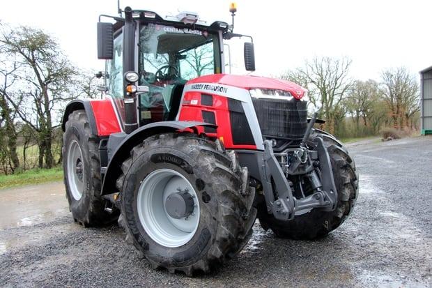 tracteur Massey Ferguson 8S.245