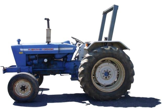 tracteur ford avec arceau