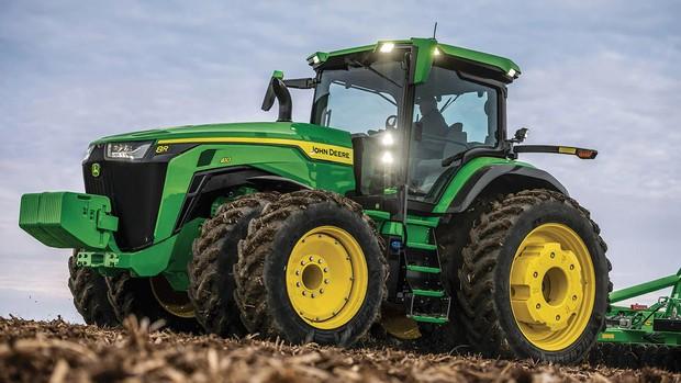 tracteur John deere 8R 2022