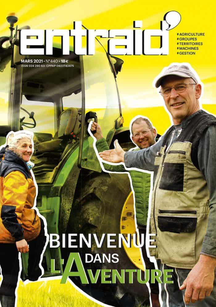 Couverture Entraid magazine mars 2021